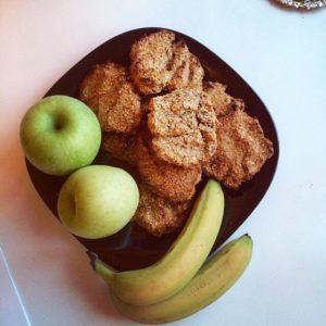 Рецепт Жени - банановое печенье