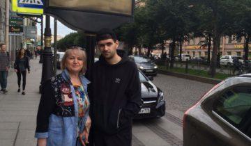 Мария Кузьминична с сыном