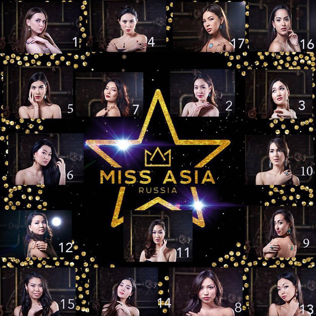 Мисс Азия Участницы