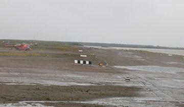 Аэропорт в Зырянке