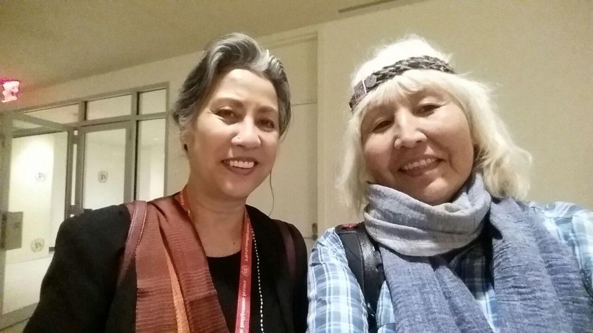 С Чандрой Рой Хенриксон - руководителем секретариата Постоянного Форума ООН по вопросам коренных народов