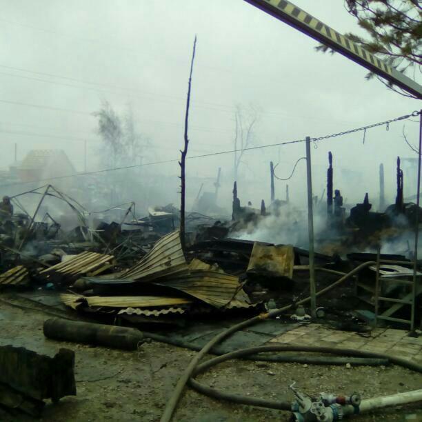 Пожар Чернышевского