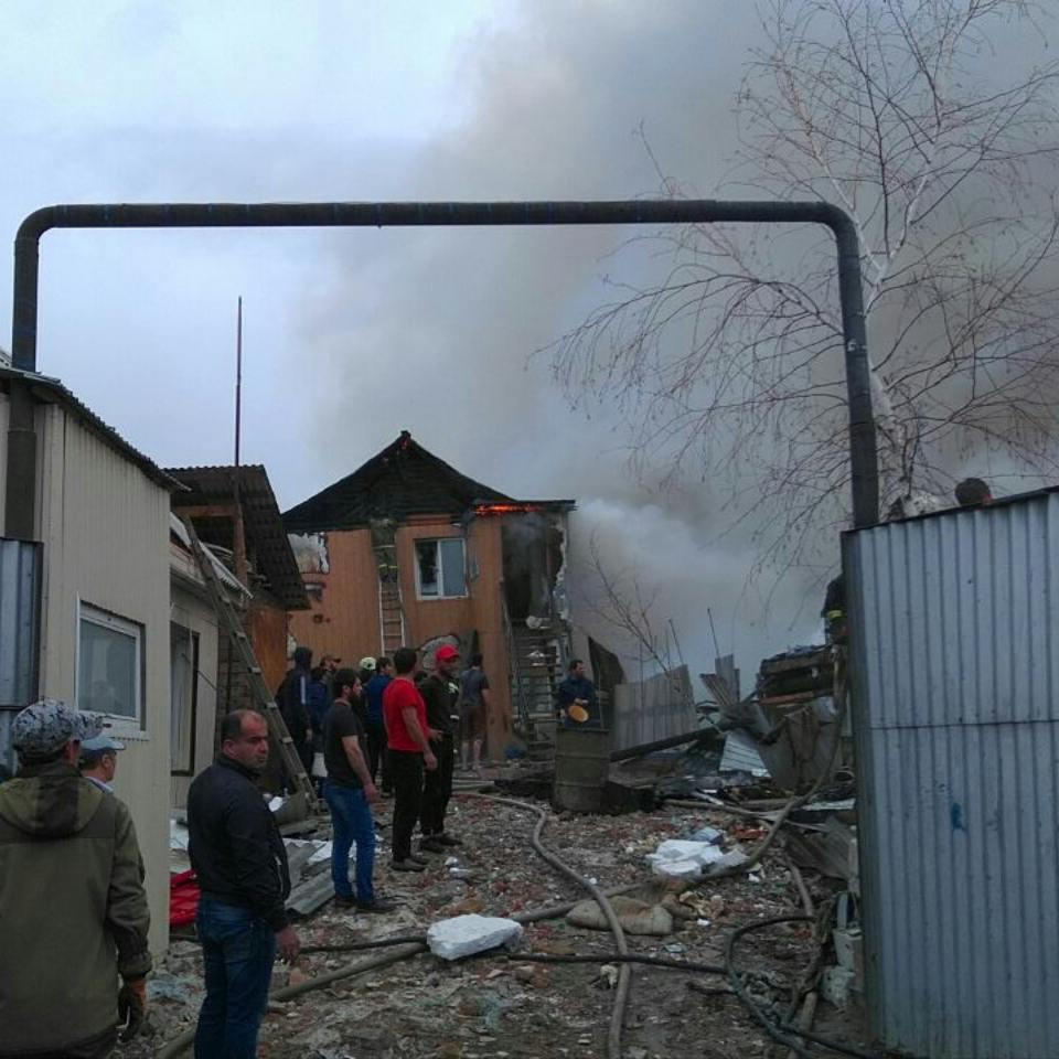 Пожар Рыдзинского