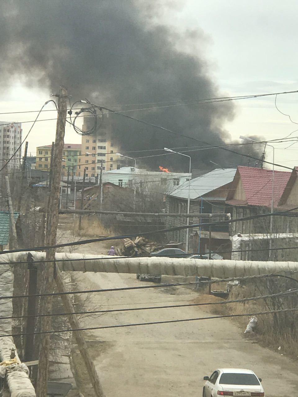 пожар Рыдзинского-2