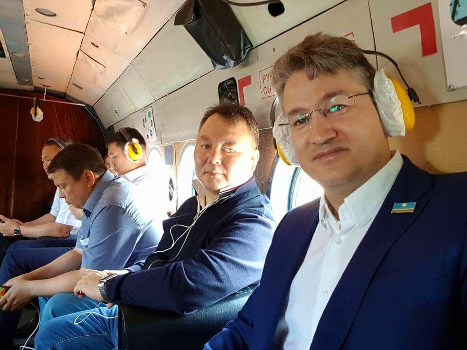 Правительственная делегация летит в Алданский район