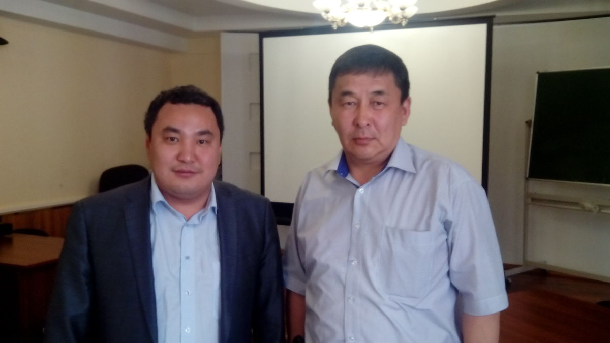 Винокуров и Георгий Егоров