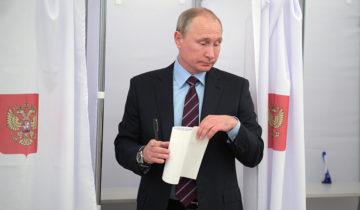 выборы путин