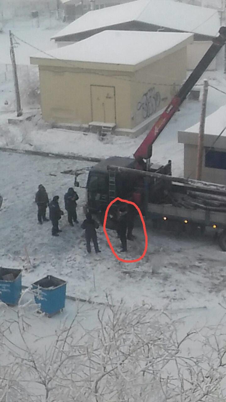 Человек, избивший Александра Захарова