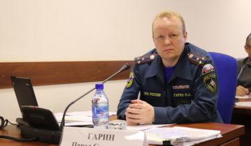 Павел Гарин, МЧС