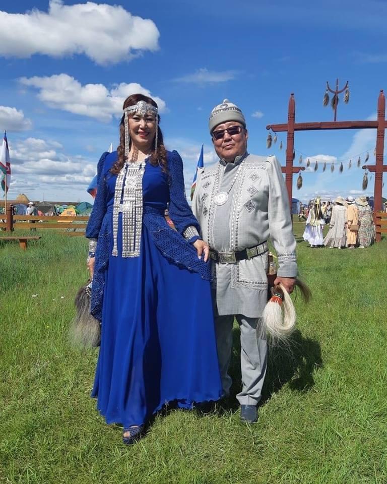 Алевтина Эверстова с депутатом Гордумы Николаем Васильевым