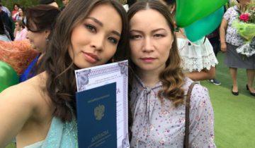 Саша Павлова с мамой