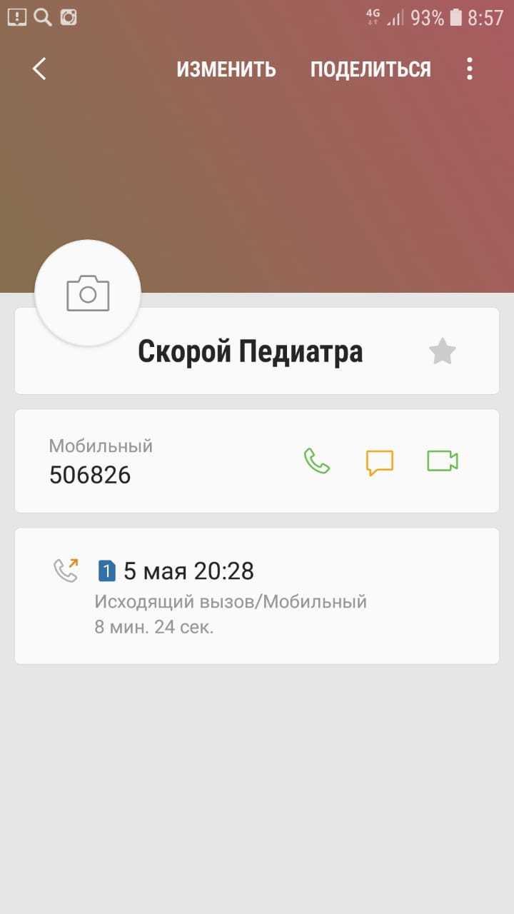 5 мая Юлия звонила и в скорую и к педиатру