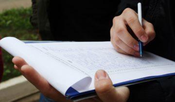 подписи, выборы