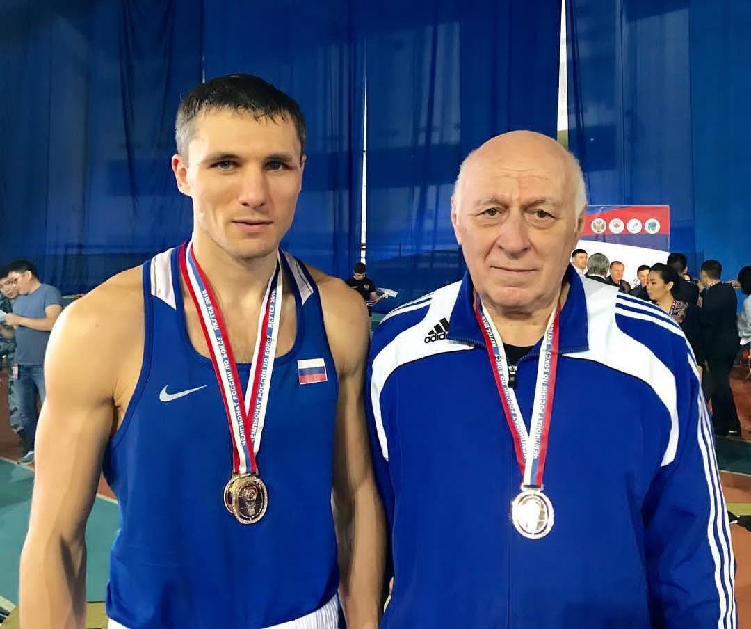 Андрей Замковой с тренером