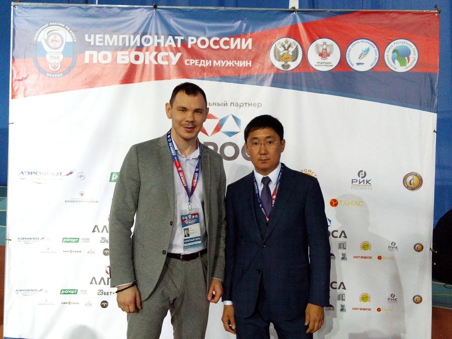 Егор Ехонцев и Алексеев РИК