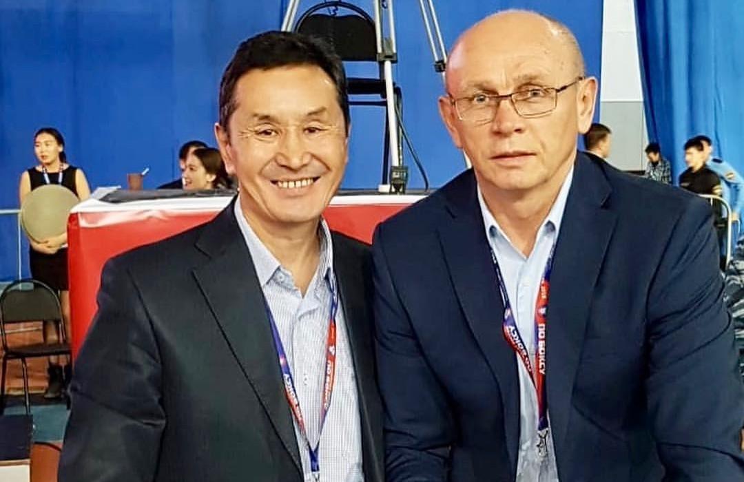 Г.Стручков и Валерий Рачков