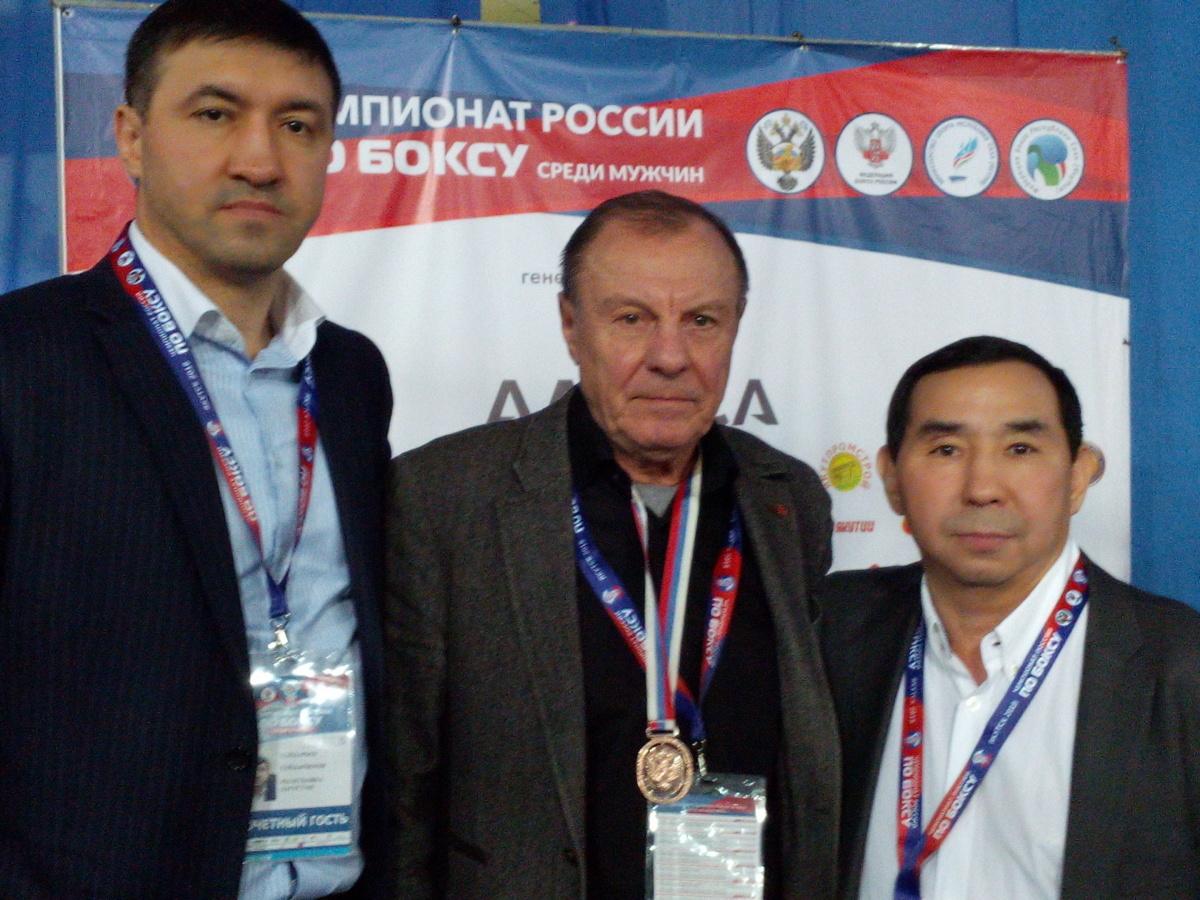 Гайдарбек Хромов и Явловский Фед як бокса