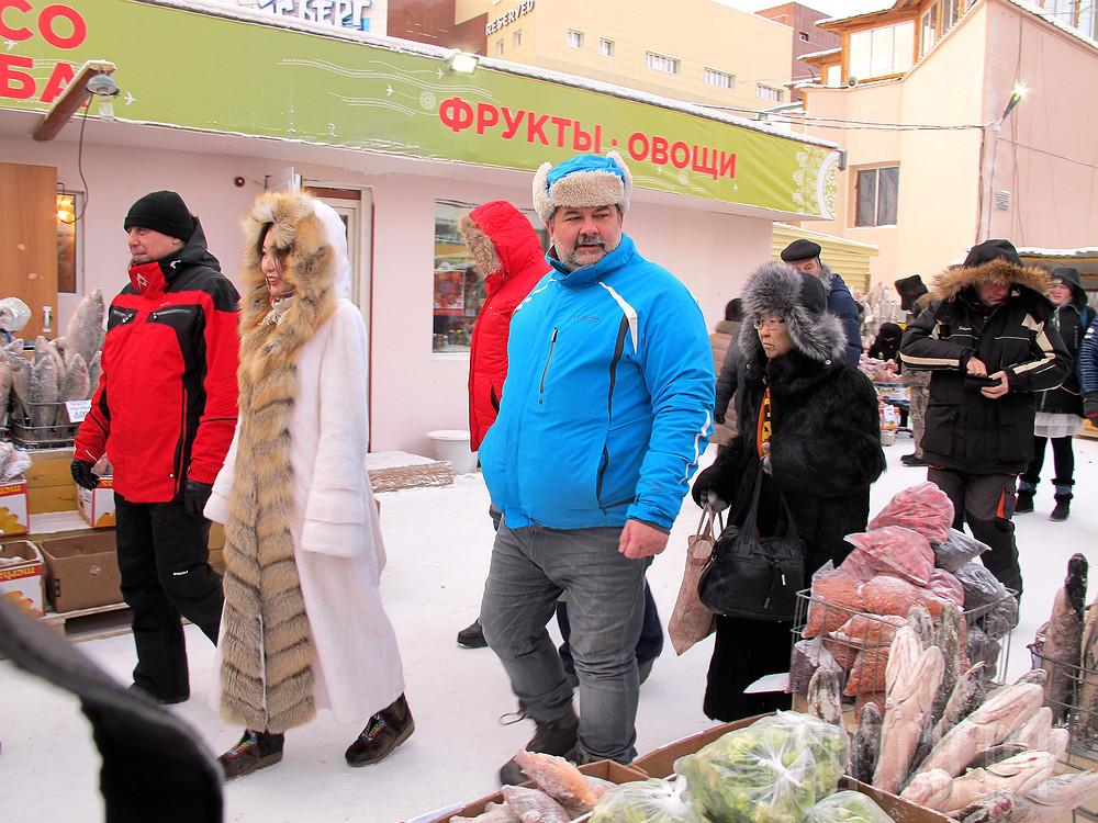 Лукьяненко на ярмарке в 2016 году