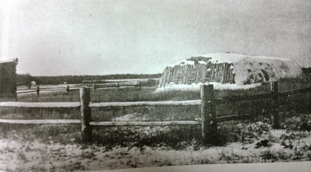 Юрта, где родился Платон Ойунский.
