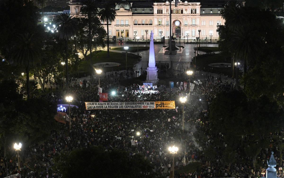 Аргентина, Буэнос-Айрес, перед домом Правительства