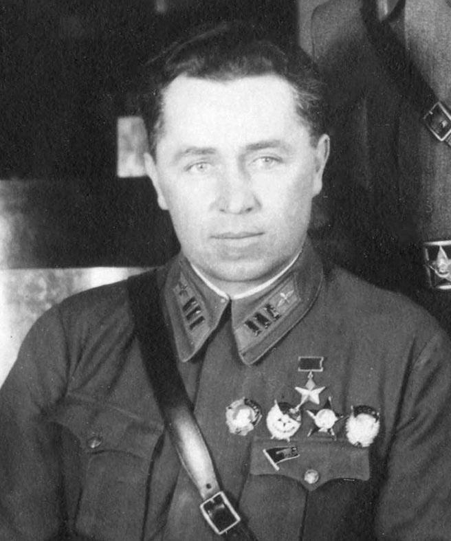 Герой Советского Союза Илья Мазурук
