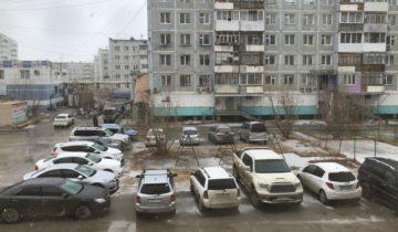 Якутск, снег