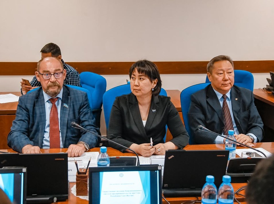 Фото заседания Координационного совета при Главе Республики Саха (Якутия)