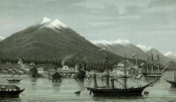 Новоархангельск литография П.Смирнова, 1863 г.