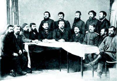 Члены Сибиряковской экспедиции