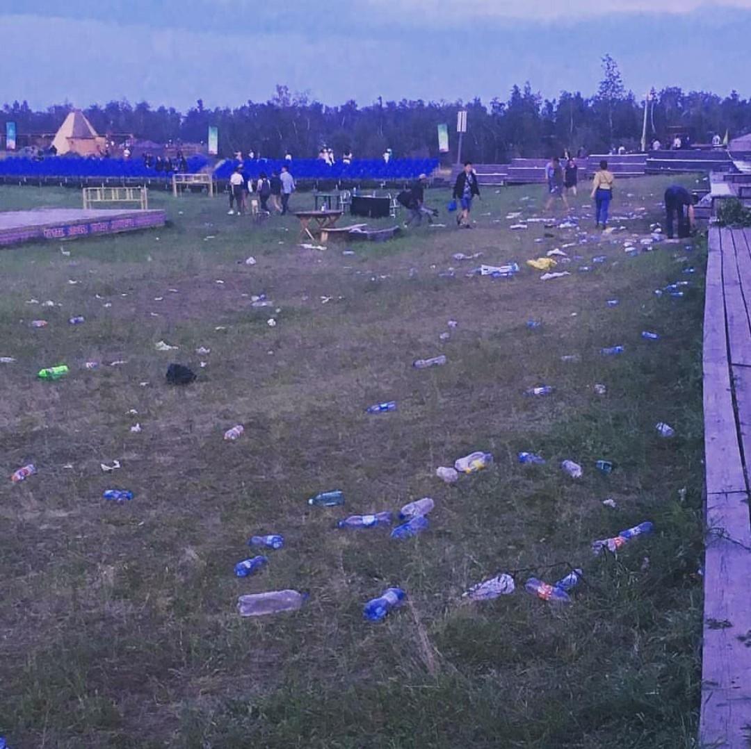 мусор в якутске