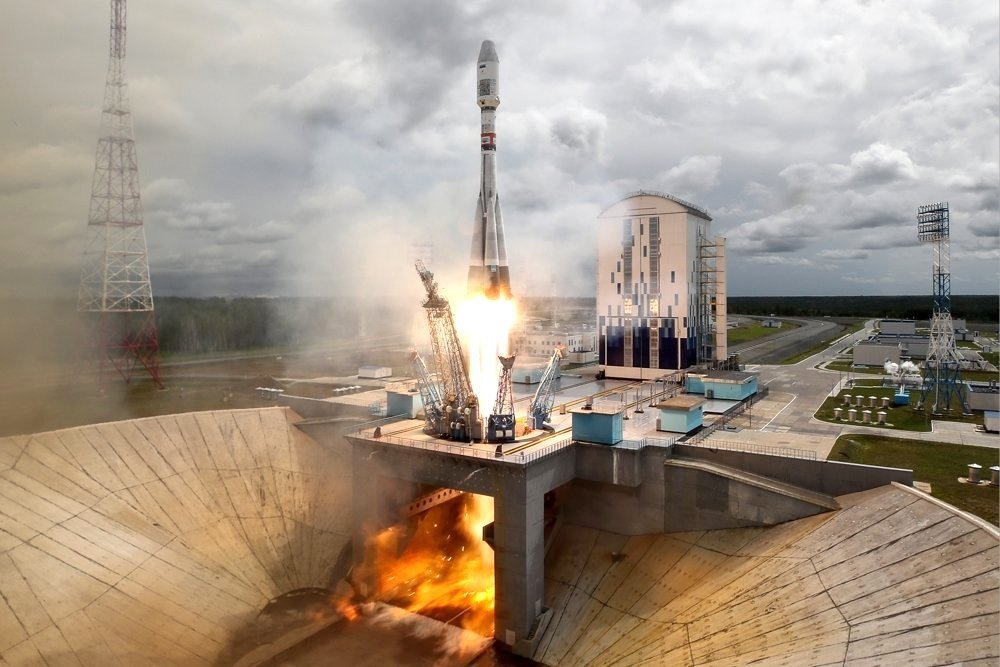 запуск ракеты СОЮЗ 2