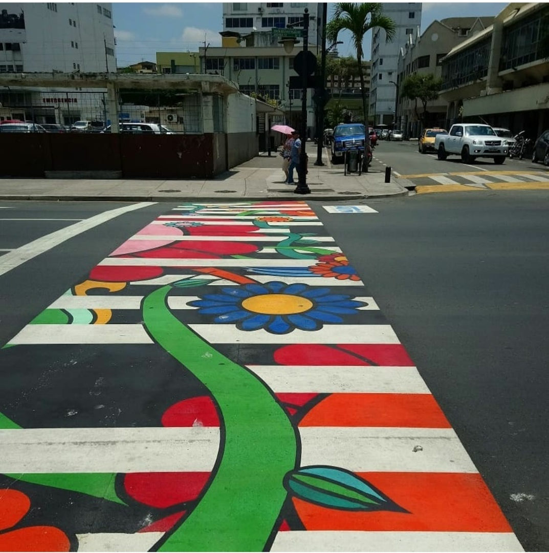 Дороги в городе Гуаякиль, Эквадор