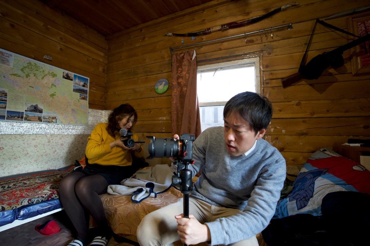 К шаману-Саше в Якутск приехали японские журналисты