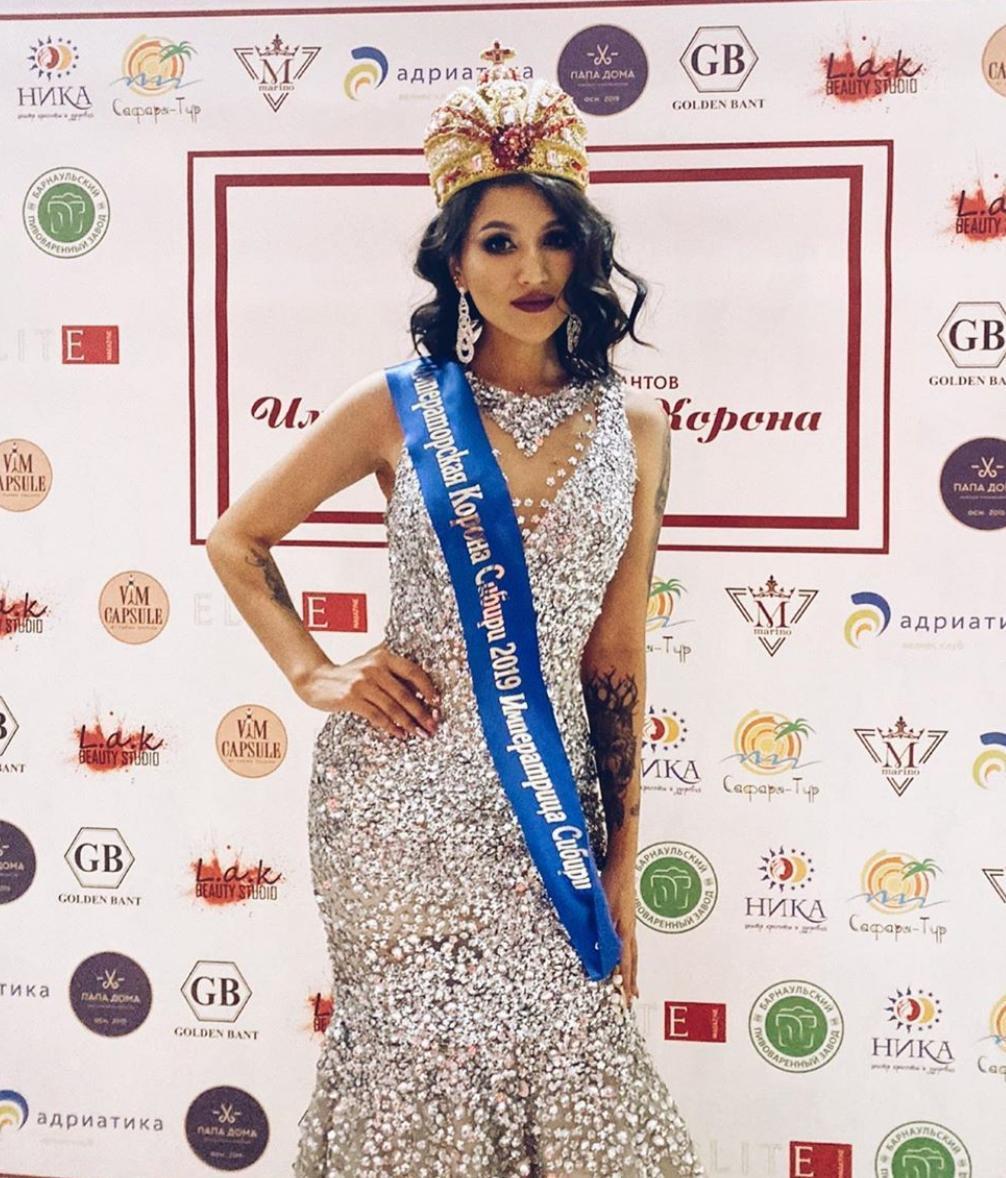 Якутянка успешно выступила на двух конкурсах красоты