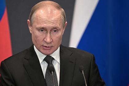 Путин впервые прокомментировал эпидемию коронавируса