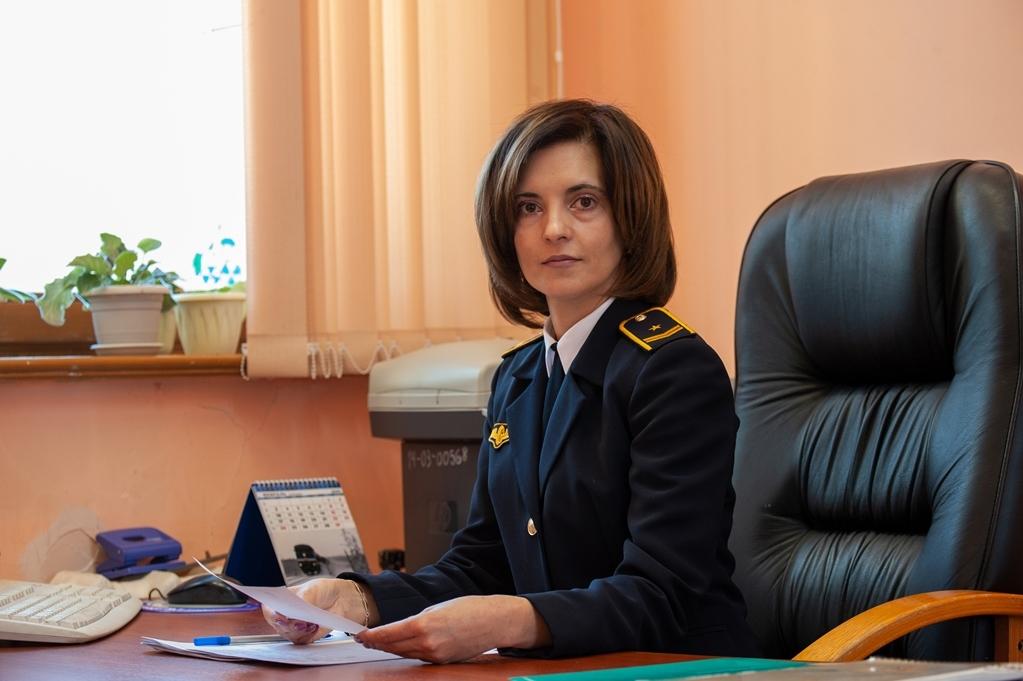 Наталья Владимировна, начальник вокзала ст. Томмот