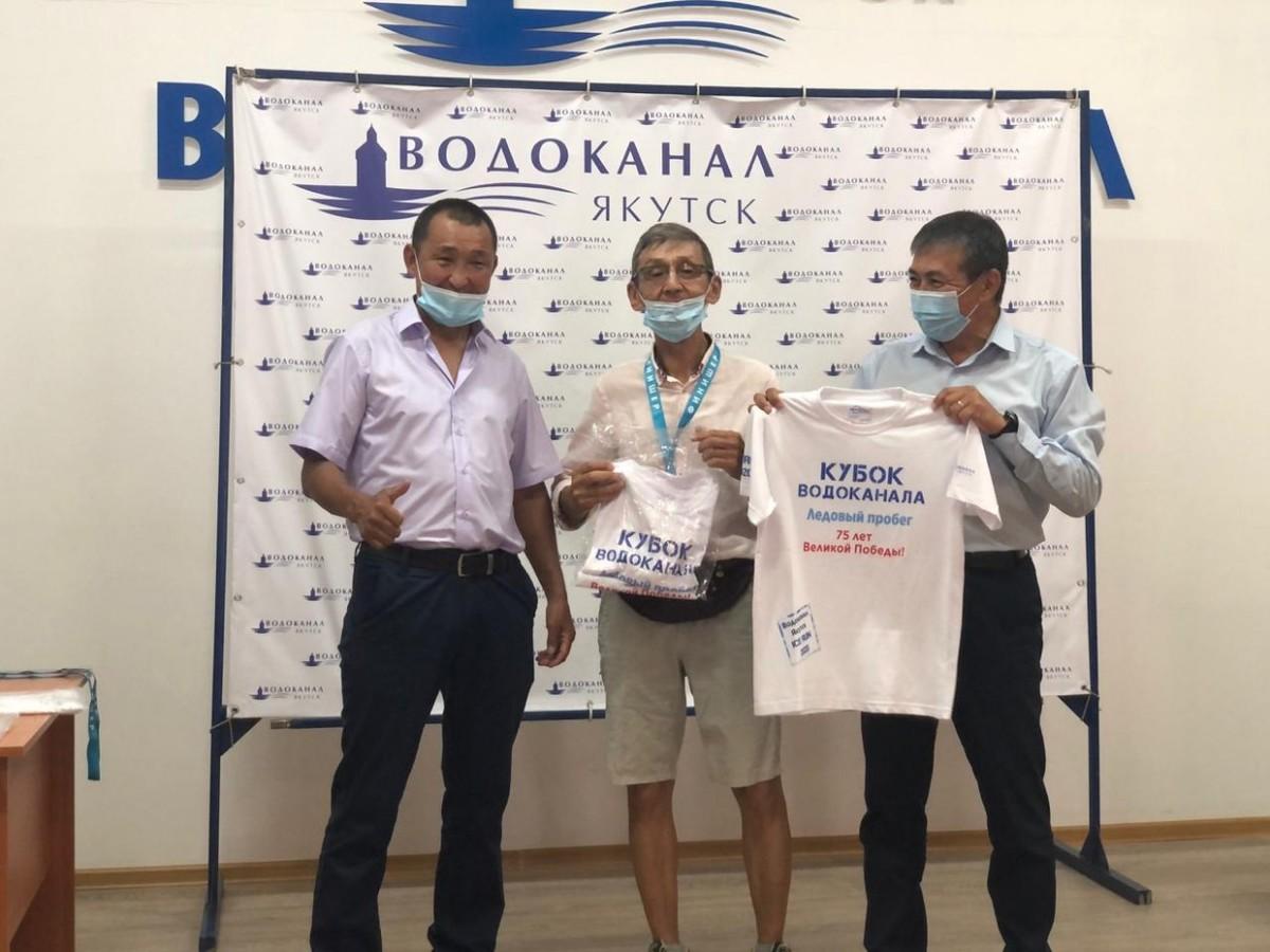 Стали известны первые финишёры забега на Кубок Водоканала