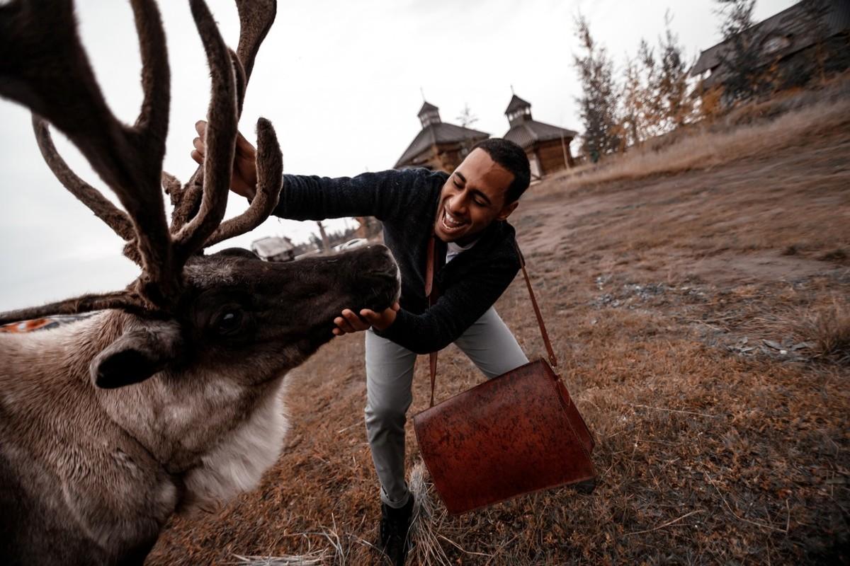Марокканский студент познакомился с жизнью Якутии в документальном проекте
