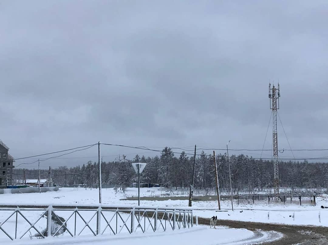 Фотофакт: В Якутию пришла зима