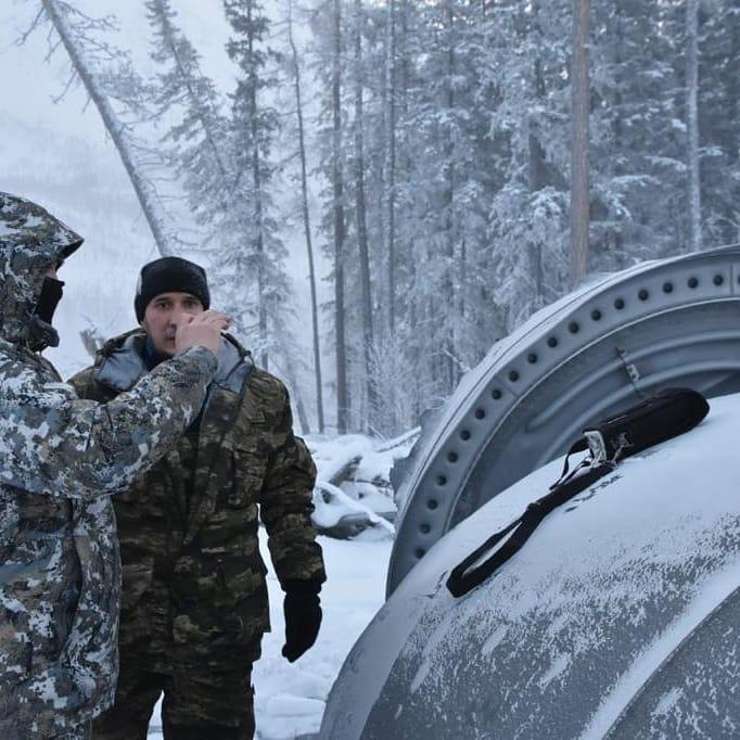 Фотофакт: В Якутии обнаружена часть ракеты-носителя