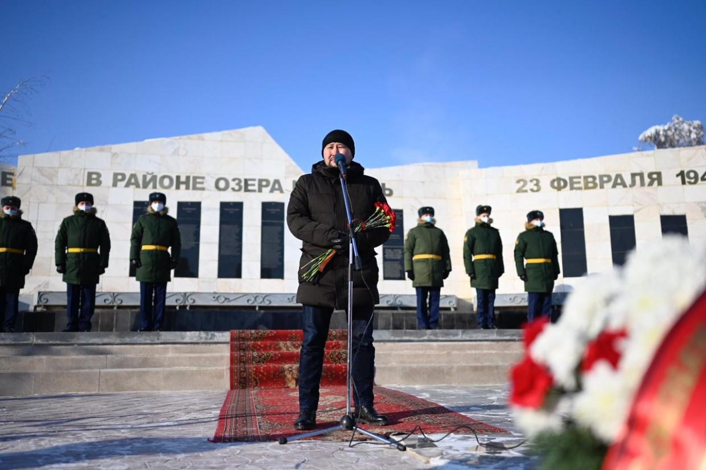В Якутске почтили память воинов-якутян