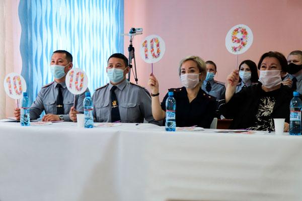 В якутской колонии прошел конкурс красоты