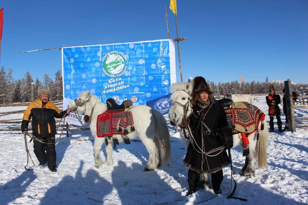 Якутяне отправились в конный поход до Лондона