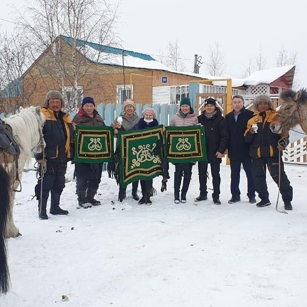 Путешественники на лошадях приедут в Якутск 30 марта после обеда
