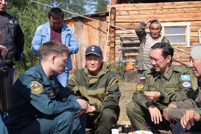 Айсен Николаев: «Мы уже потушили вдвое больше очагов, чем за весь прошлый год»