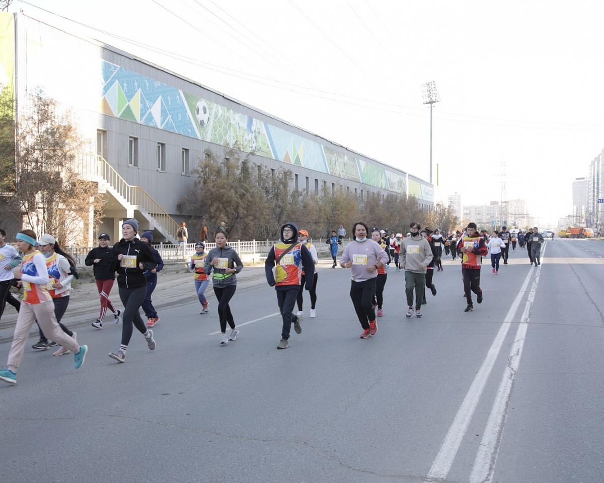 Сегодня в День города состоялся «Якутский полумарафон 2021»