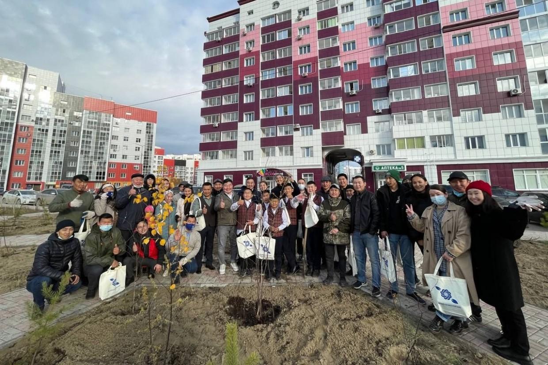 Николай Долгунов вместе с волонтерами АЭБ и предпринимателями поддержал акцию «Сохраним лес»