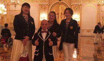 Паралимпийцы в Кремеле