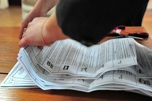 Подсчет голосов на выборах в Госдуму РФ 6-го созыва