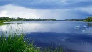 гладь озера